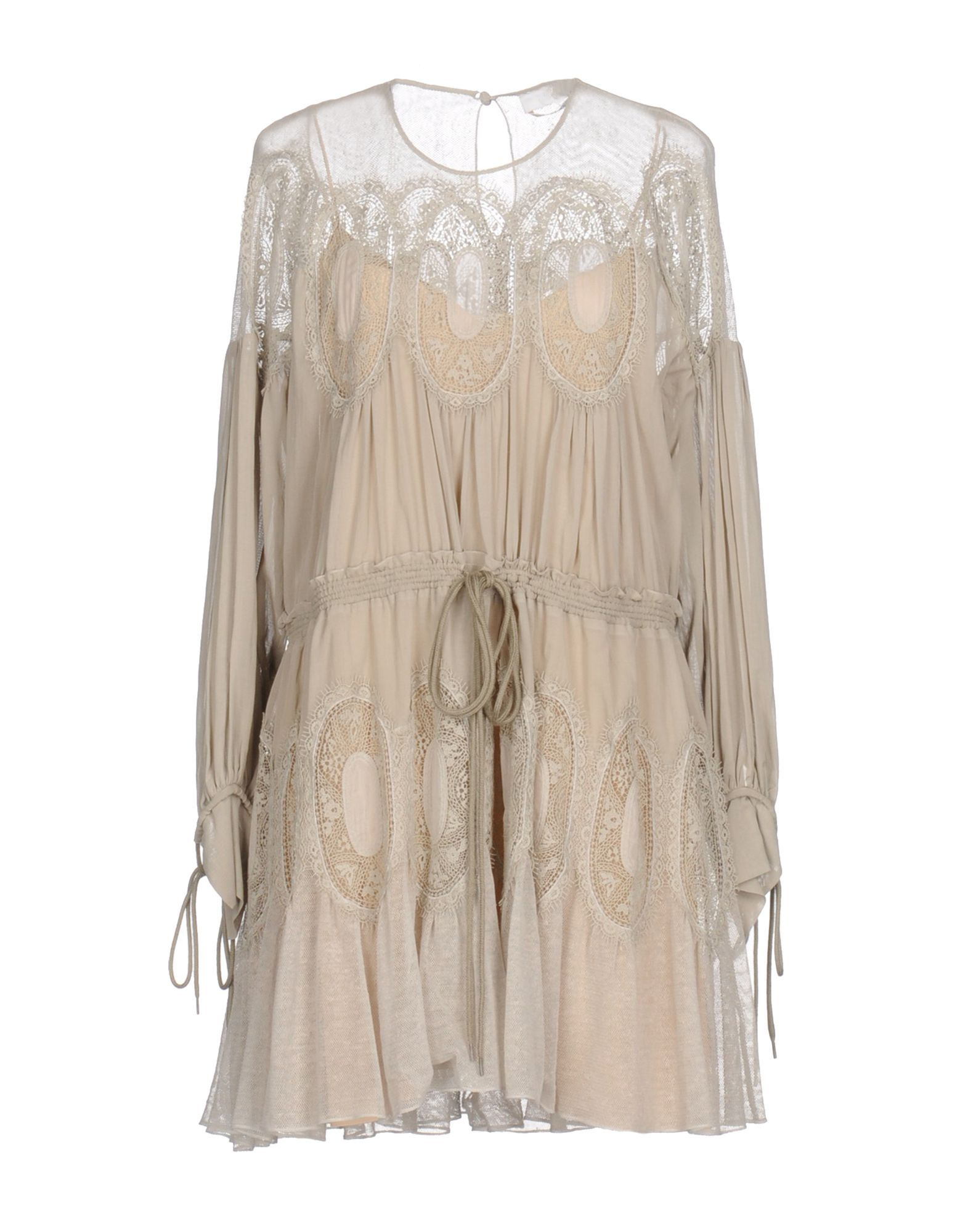 Κοντό Φόρεμα Chloé Γυναίκα - Κοντά Φορέματα Chloé στο YOOX - 34757928XO 09f5c1f8517