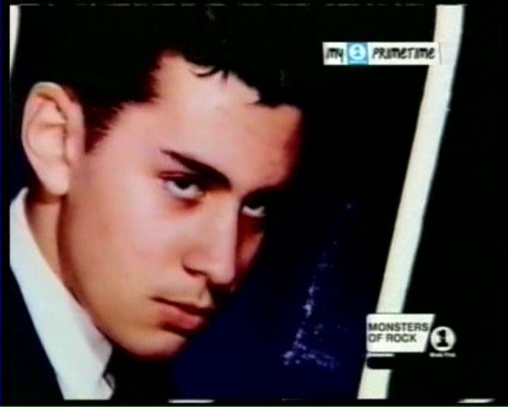 Young Handsome Teenaged Gene Gene Simmons Kiss Army Gene