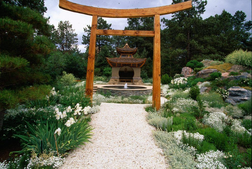 Asian landscaping ideas landscape asian with gravel