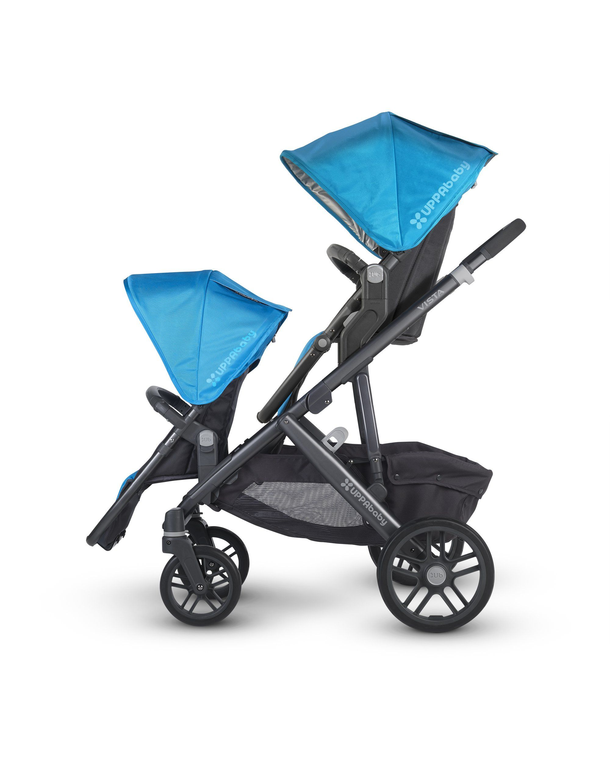 UPPAbaby 2015 Vista Stroller With Rumble Seat Taylor