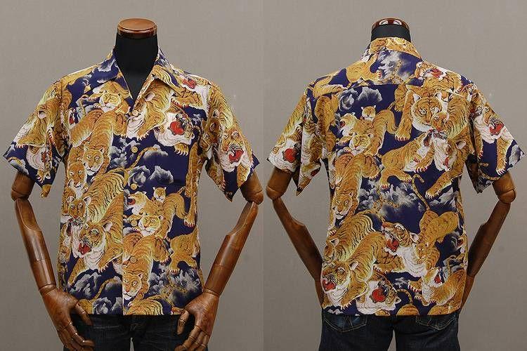 237c1138 Klax-on | Rakuten Global Market: FUKUWA-UCHI ( フクワウチ ) シルクアロハ shirt