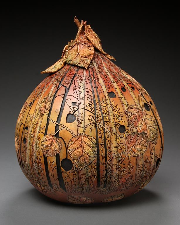 Gourd carving you have to get them cleaned and dried out