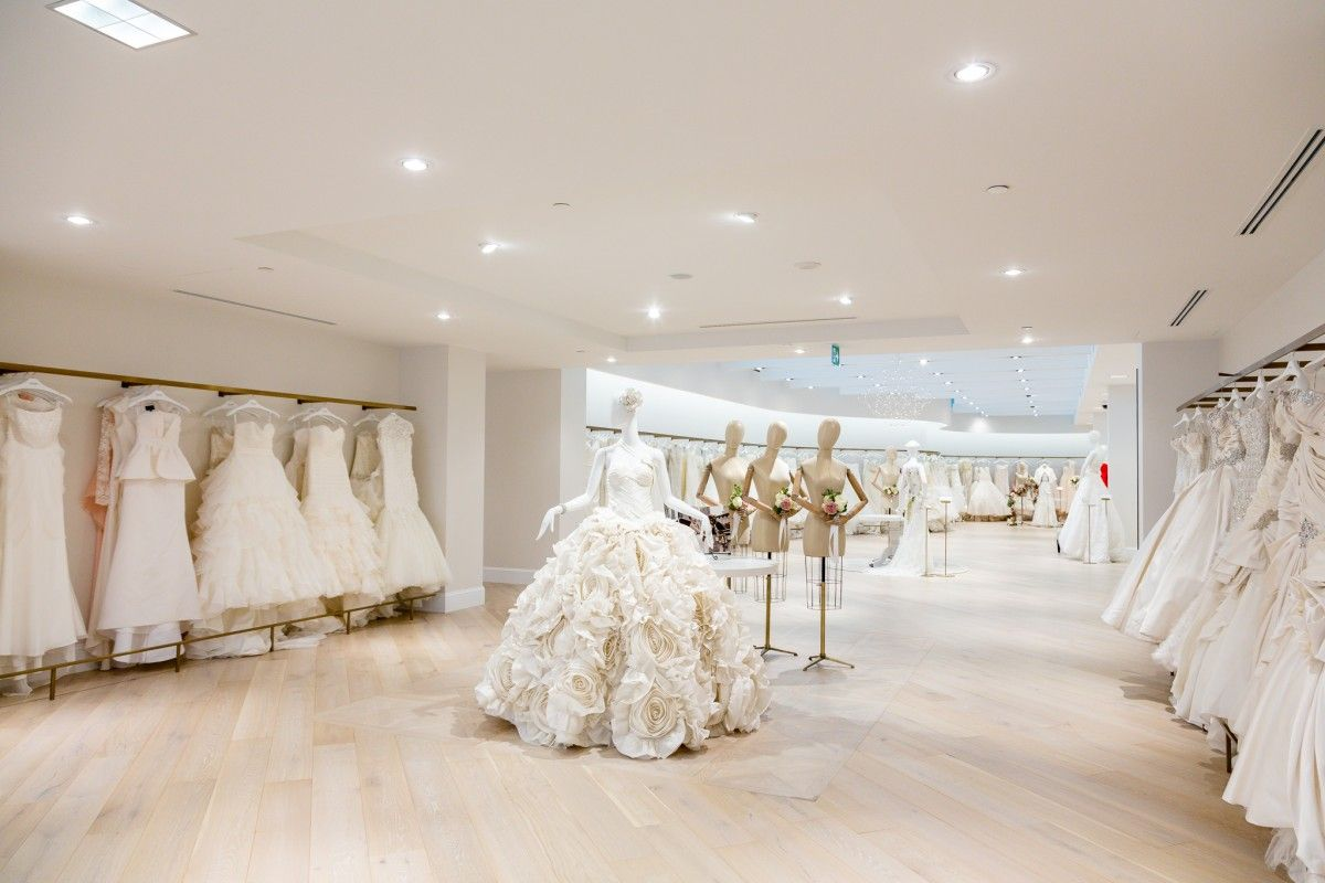 New York City Bridal Shop, Kleinfeld, Opens in Toronto #bridalshops