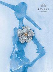 Photo of Benard Creative – Luxury Packaging Design — Kwiat  Watercolor Painting Adverti…
