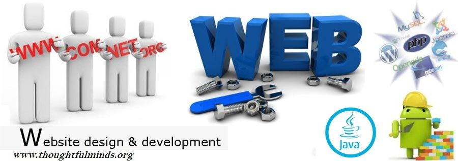 Thoughtful Minds The Leading Website Development Company In Jaipur Is Providing Trusted Web Developme Fun Website Design Website Design Company Website Design
