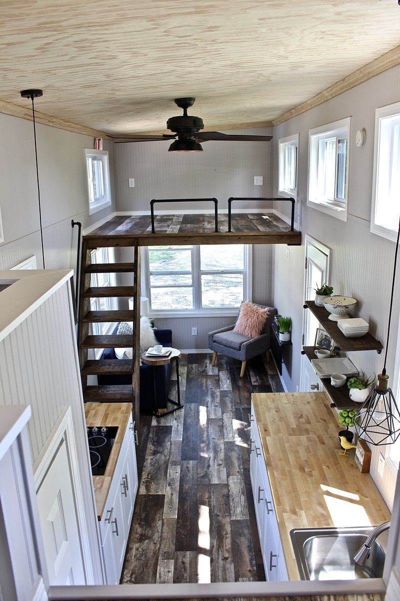 26 Chateau Shack Tiny Home On Wheels Tiny House Bedroom
