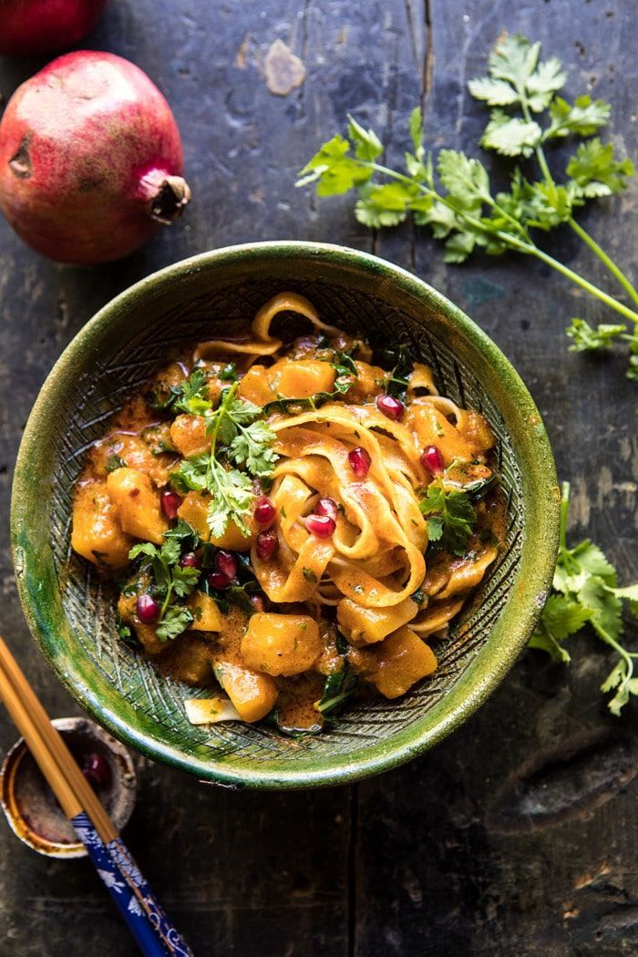 Slow Cooker Saucy Thai Butternut Squash Curry with Noodles Slow Cooker Saucy Thai Butternut Squash Curry |