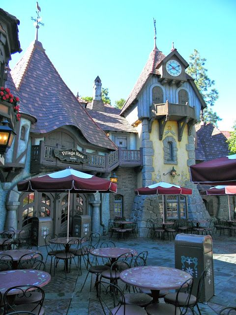 Village Haus Disneyland Picture of the day #disneylandfood