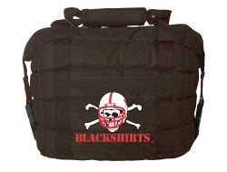 "Nebraska Cooler Bag - Blackshirts  $22.95 Use coupon code ""chasethedream"" at FlySportsGear.com and receive 10% off your orders!"