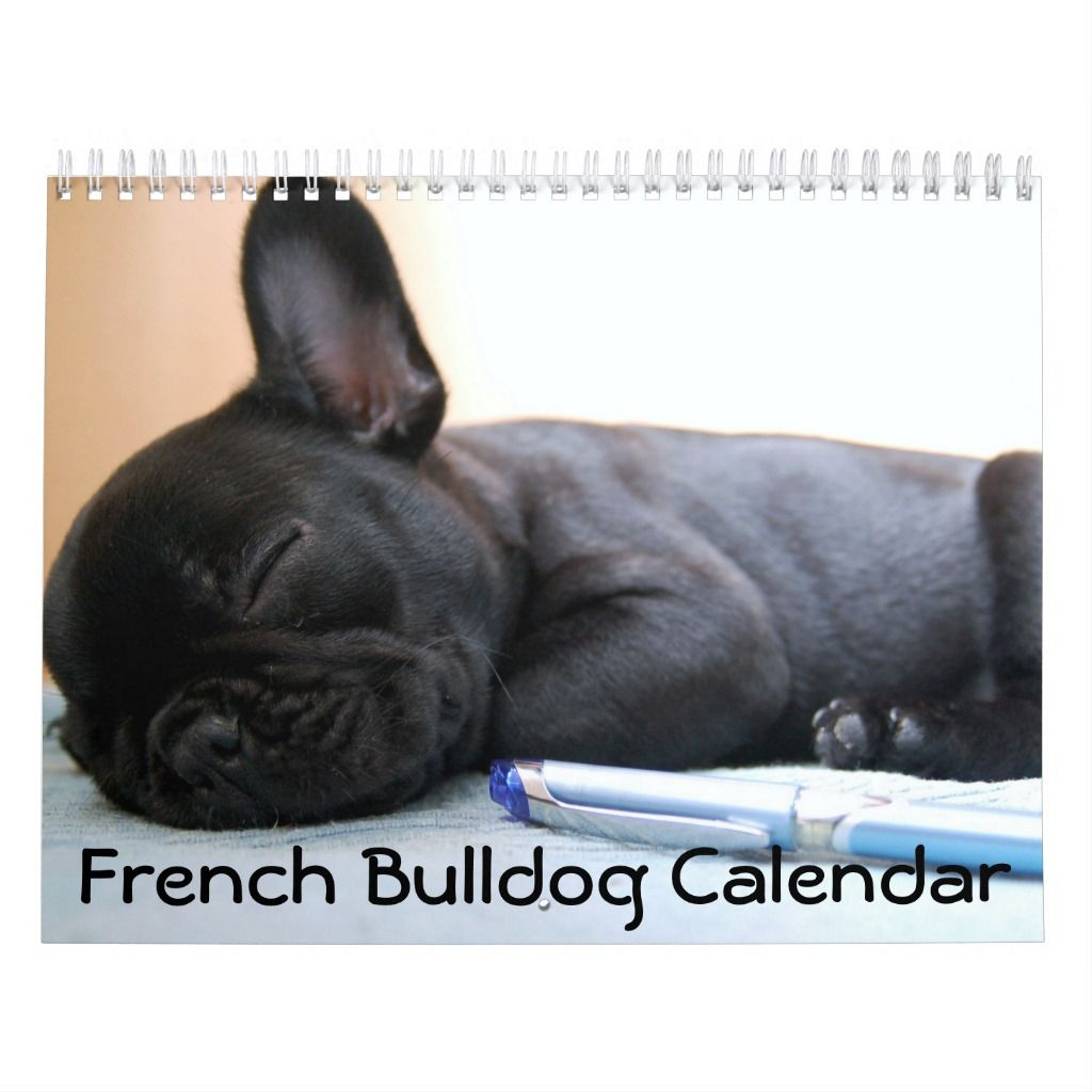 French Bulldog Calendar 2019 Personalized In 2020 French Bulldog