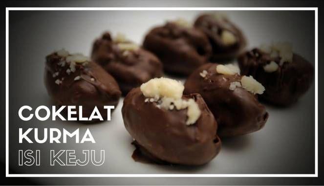 Resep Bukan Takjil Biasa Kreasi Kurma Cokelat Isi Keju Resep Makanan Cokelat