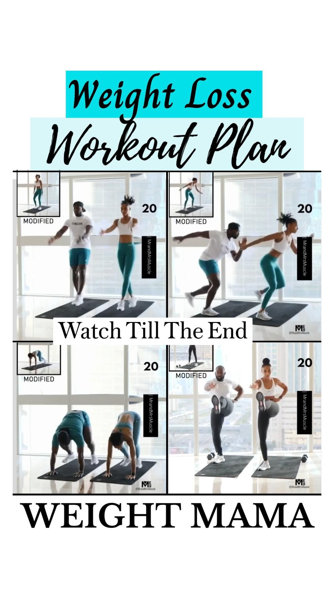 Weight Loss Workout Plan || Lose Body Fat ||