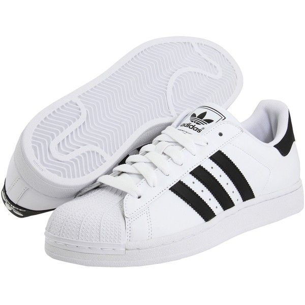 adidas (Blanco/Negro) Originals Superstar 2 (Blanco/Negro) adidas Classic Zapatos (25 981a15