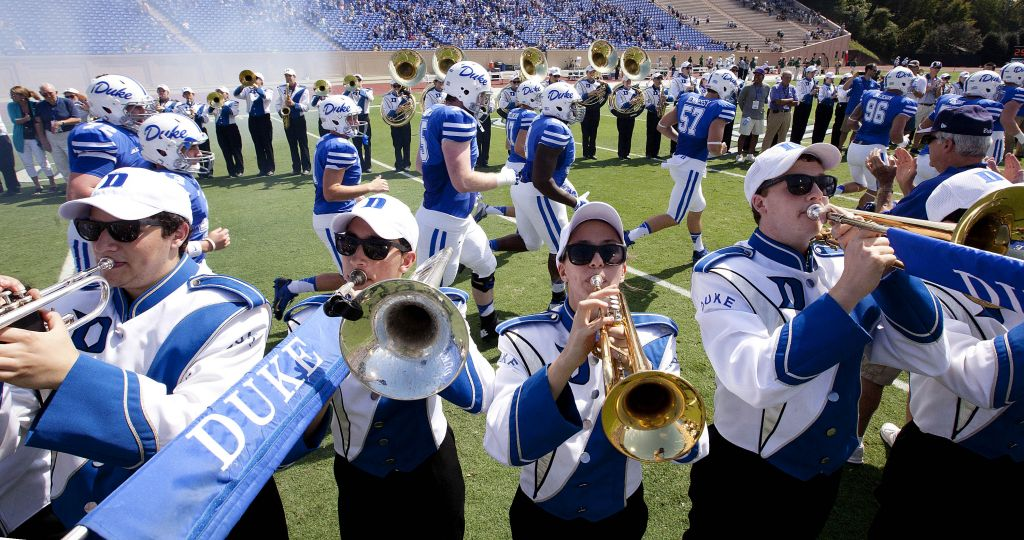 2d371d75f55a Duke University Marching Band was out in full force for the Tulane game!   GoDuke Photo credit  Duke Photography