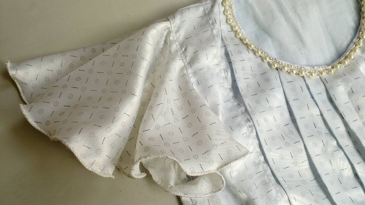 4c02911bdbe9 Umbrella Sleeve / Circular Sleeve : DIY Easy Cutting & Stitching /  StitchingMall Exclusive - YouTube