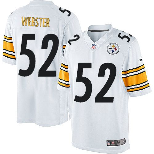 279784e399a ... canada nike limited mike webster white mens jersey pittsburgh steelers  52 nfl road 31fdf b111f