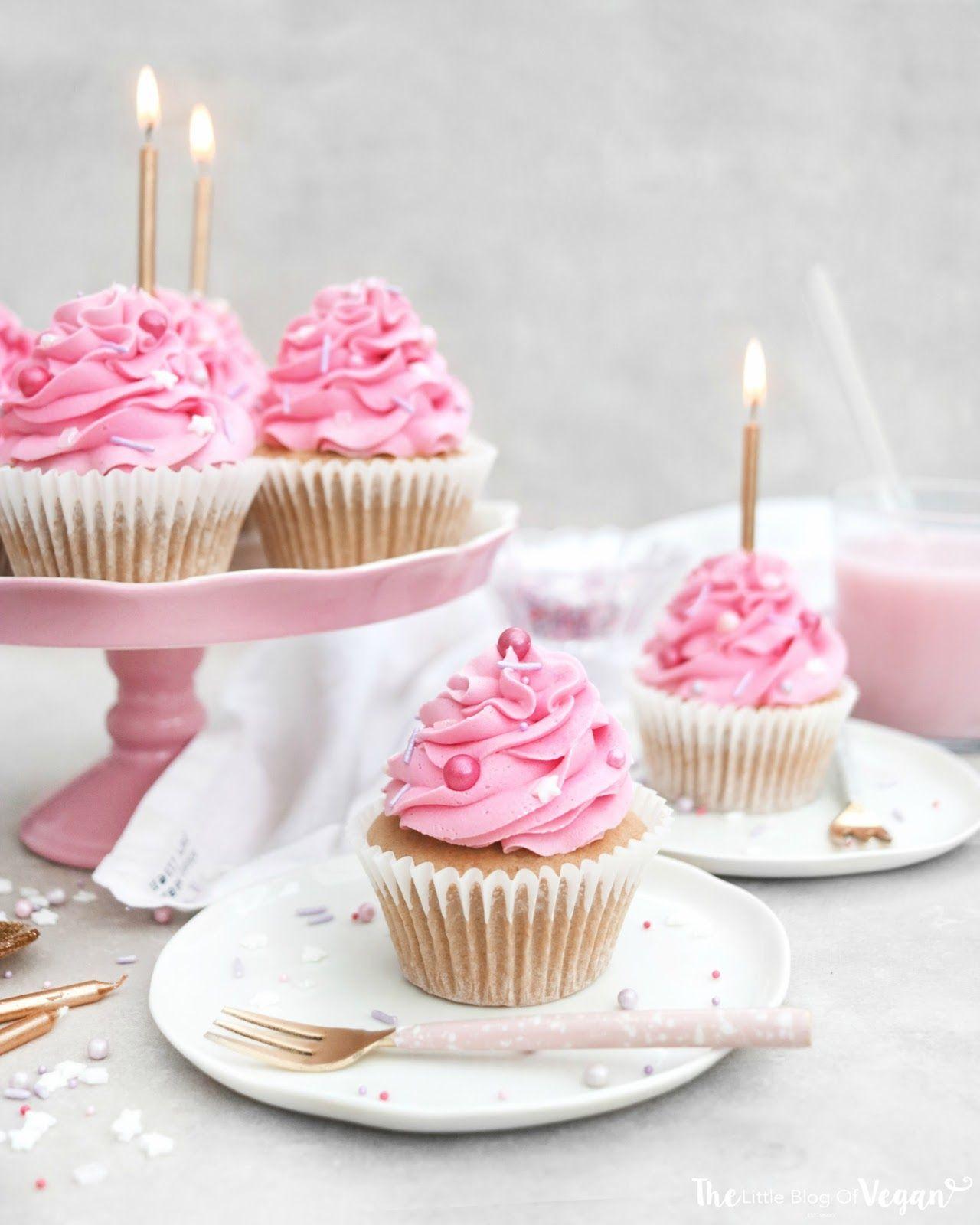 Birthday Cake Cupcakes Recipe