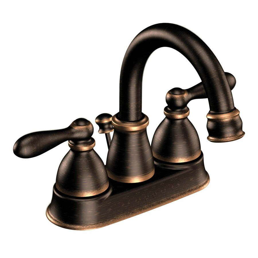 Moen CA84667BRB Caldwell WaterSense Bathroom Faucet - Lowe\'s Canada ...