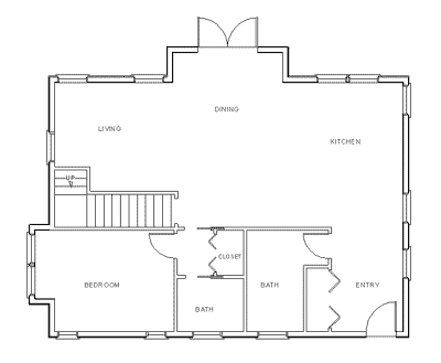 Make Your Own Blueprint How To Draw Floor Plans Simple Floor Plans Floor Plans House Plans