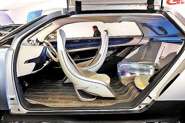 Something Fishy Chinese Car Boasts Tank In Back Seat