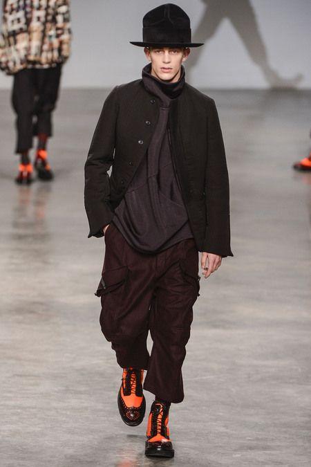 John Galliano Fall 2013 Menswear Collection Slideshow on Style.com
