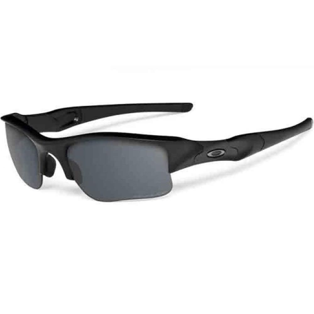 72438cbd1ac Oakley SI Flak Jacket XLJ Polarized Sunglasses Matte Black Frame with Grey  Lens…