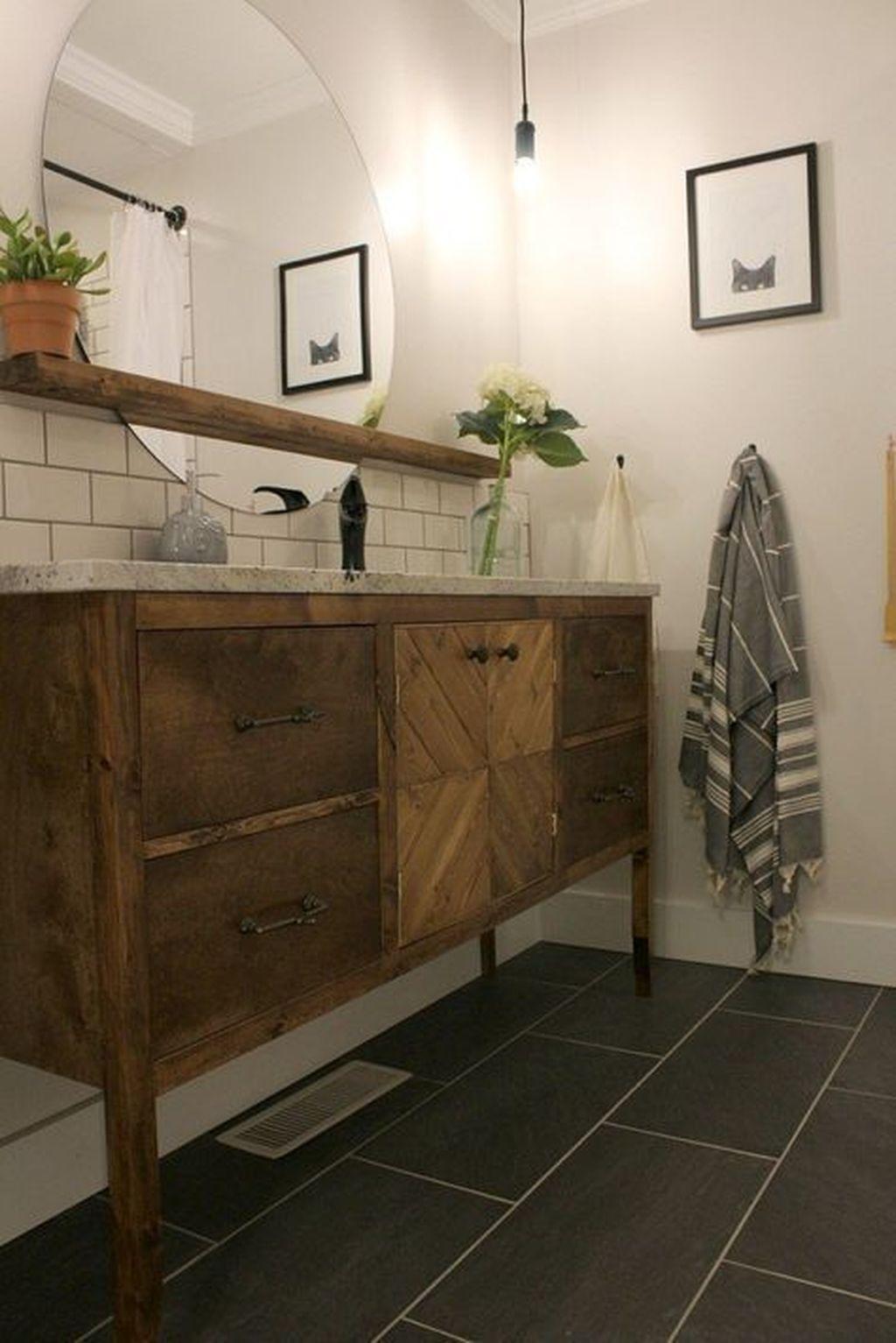 75 Modern Farmhouse Style Bathroom Remodel Decor