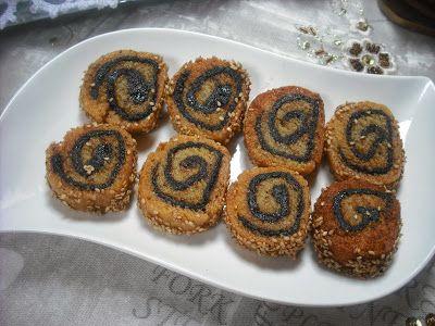 Operación Pastelito:: Makrout , pastas de sémola con masa de dátiles