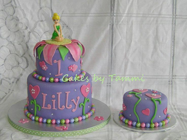 Tinkerbell 1st Birthday Cake Google Search Gabby Birthday