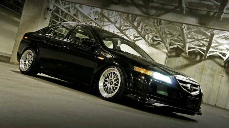 Acura TL My Baby But In White Lowered With Some Nice Wheels N - Rims for acura tl 2006