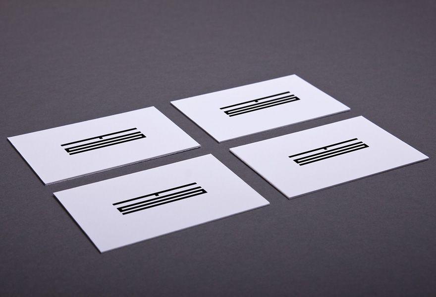 Minimalist Business Cards Inspiration