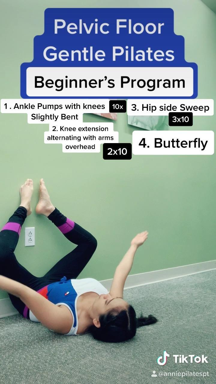 Weak Pelvic Floor with Back pain? Gentle Pilates to strengthen Core Safely