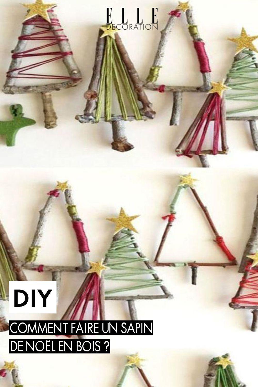 DIY sapin de Noël en bois, des idées pour fabriquer son