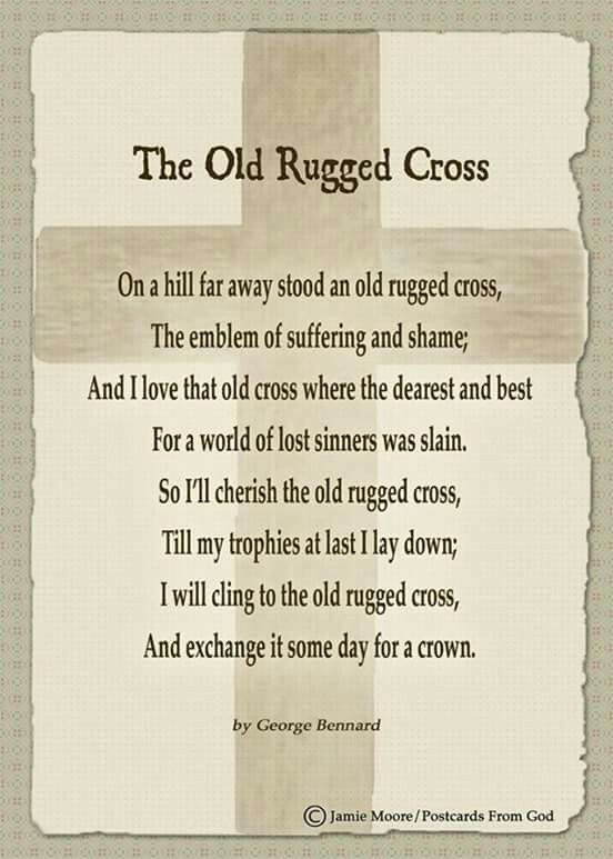 Old Rugged Cross Old Rugged Cross Quotes To Live By Spiritual Inspiration