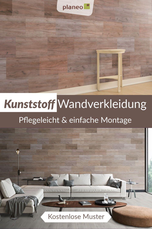 Wandverkleidung Aus Kunststoff Dekorativ Komplett Recycelbar Problemlos Wieder Zu Entfernen Eine Besonders Pflegeleic In 2020 Wandverkleidung Wandgestaltung Wand