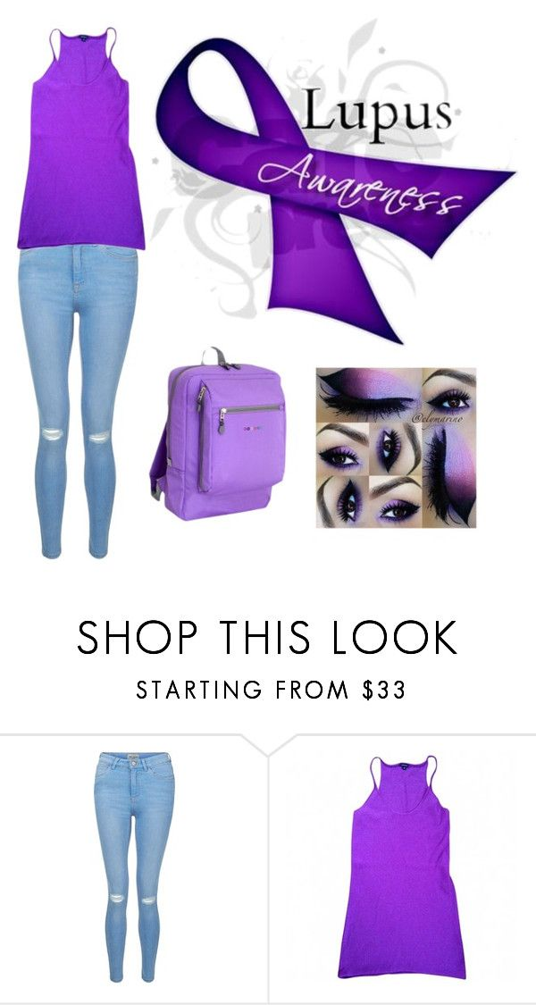 """""""It's Lupus Awareness Month!"""" by lauren-nicolec ❤ liked on Polyvore featuring New Look, Joseph and JWorld New York"""