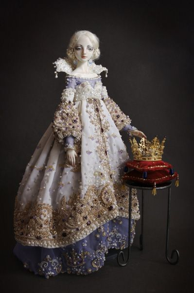 Beautiful princess doll.