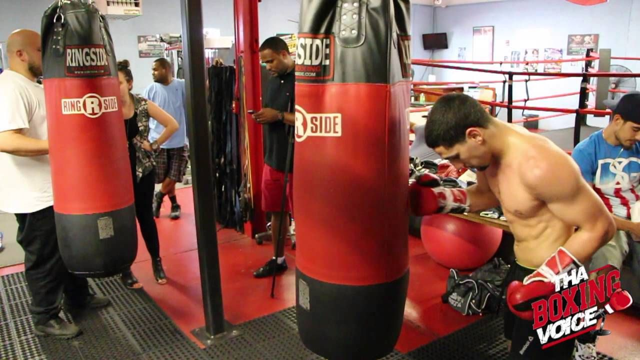 Danny Garcia putting in work! Could Be motivated with News Of Baby Garcia