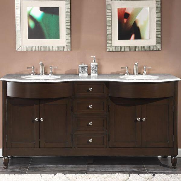 Double Vanities  Double Vanity And Vanities Entrancing 72 Inch Bathroom Vanity Double Sink Inspiration Design