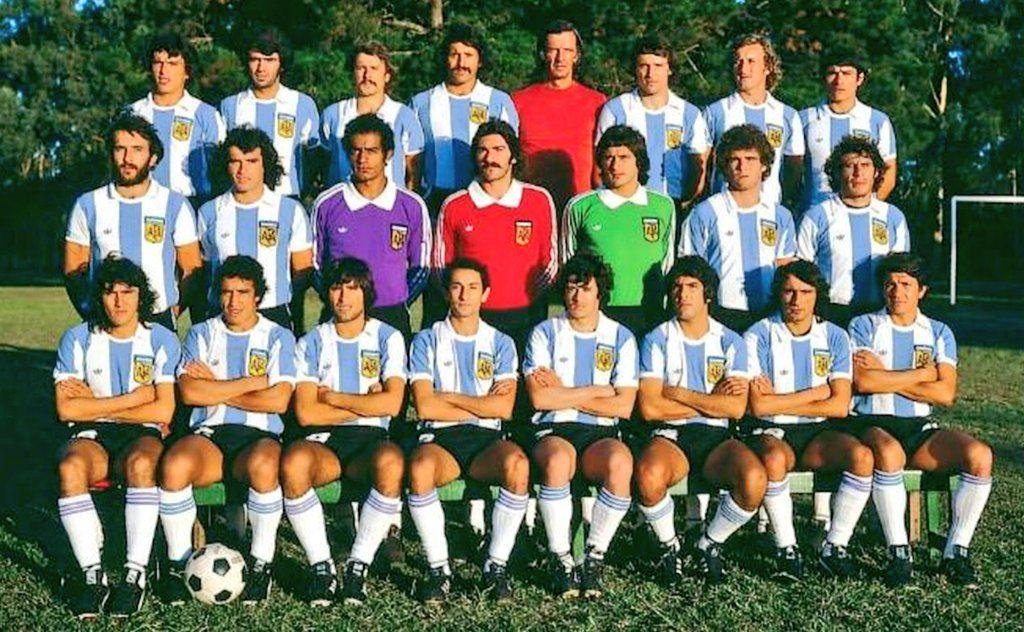 SELECCIÓN ARGENTINA 1978 Argentina team, English