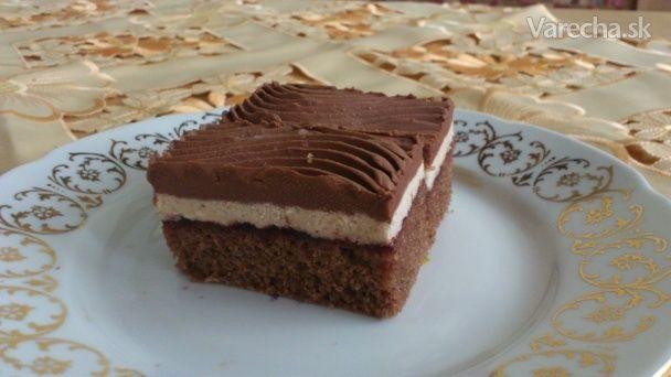 Čokoládovo-gaštanové rezy