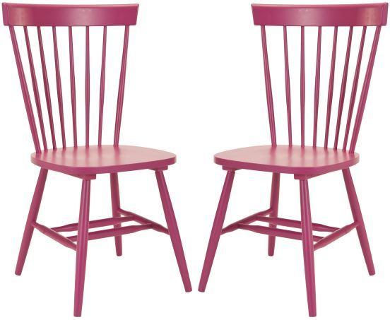 Safavieh Joslyn Contemporary Dining Chair Set Spindle