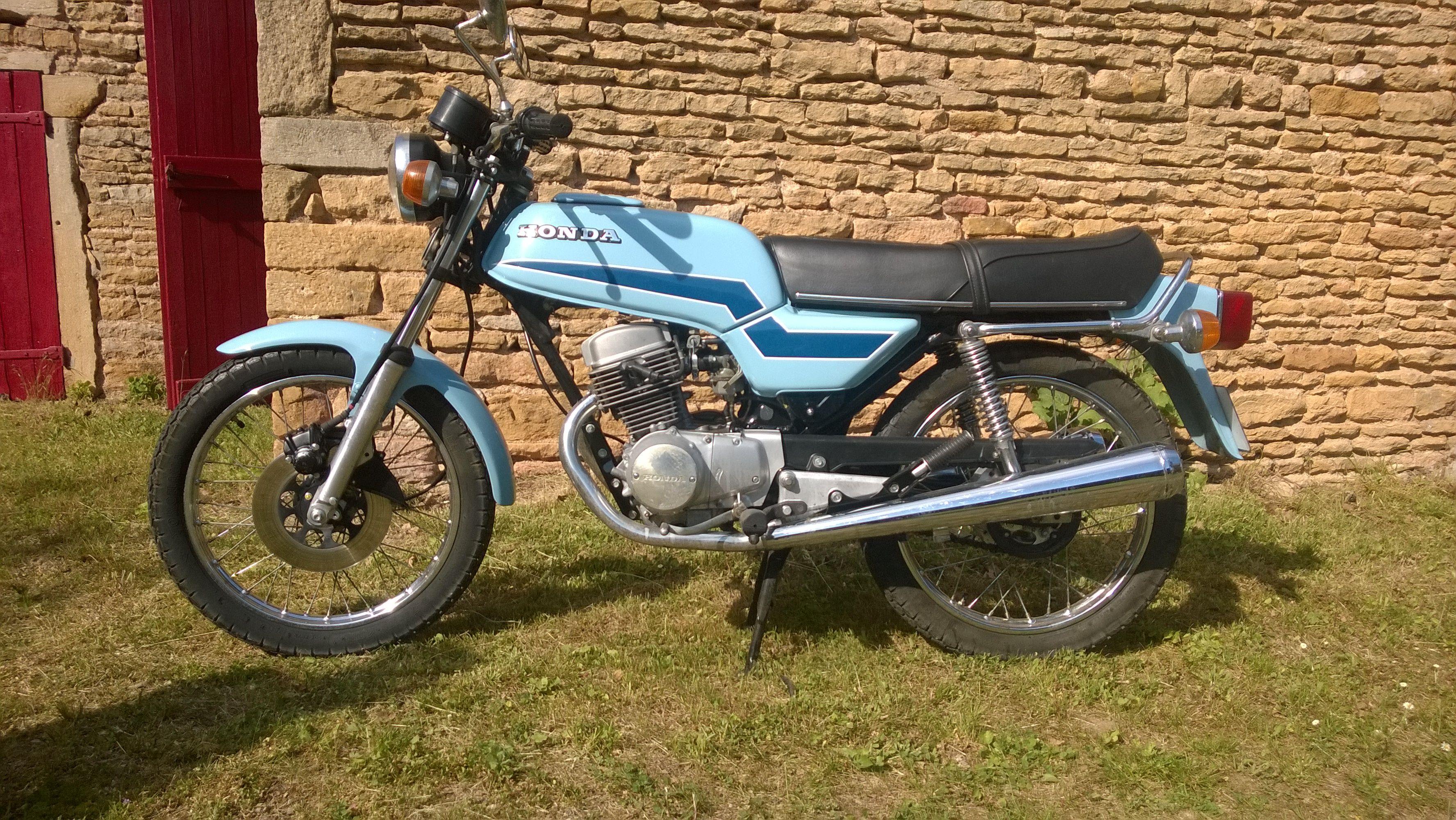 Honda CB 125 T - 1977