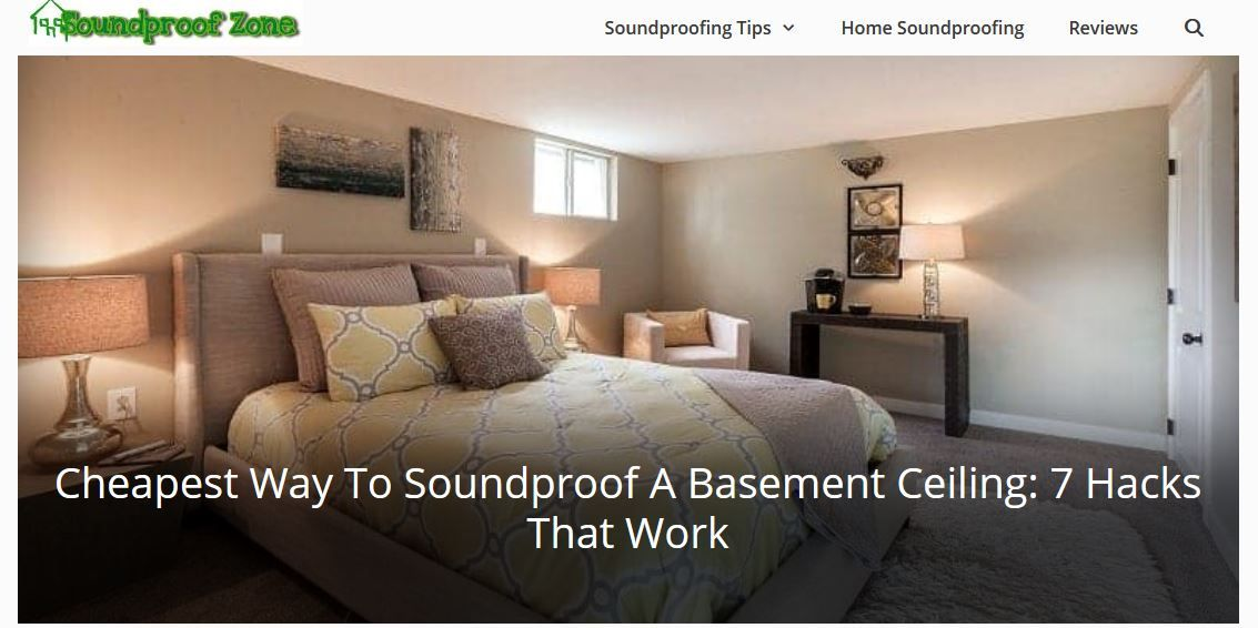 cheapest way to soundproof a basement ceiling in 2020 ...