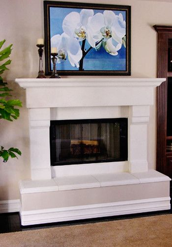 Fireplace With Raised Hearth Design Ideas Pictures Remodel And Decor