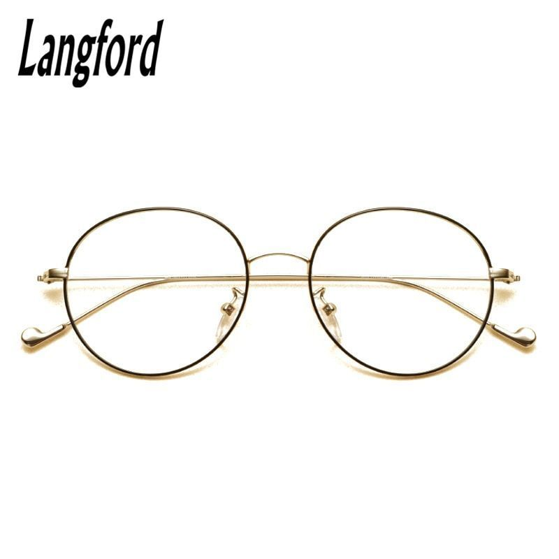 97492837ed8 Brand vintage round optical frames big hipster glasses slim light round eyeglasses  frame gold prescription 2708  eyewear  accessories  frames  women  solid ...