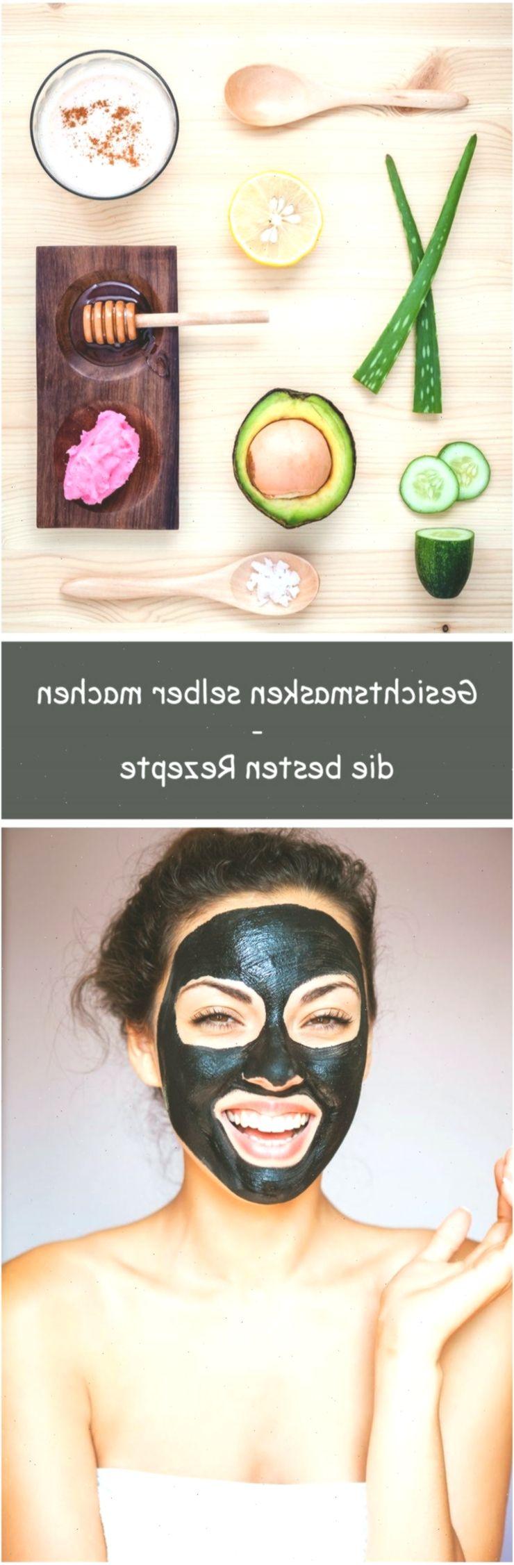 Gesichtsmasken selber machen • Schnelle Rezepte #Hautpflege #Gesichtsmasken #H…