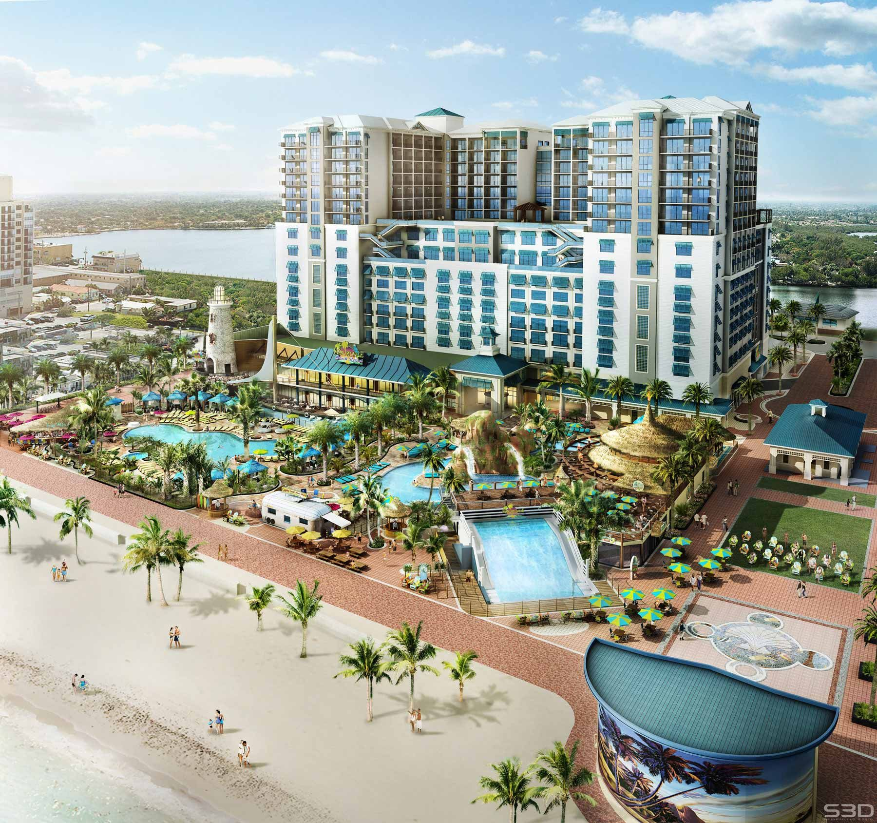 Hollywood Florida Hotels Margaritaville Beach Resort Oceanfront Hotel In