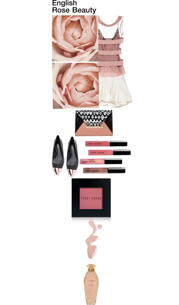 """English Rose Beauty"" by leilagoncalves on Polyvore"