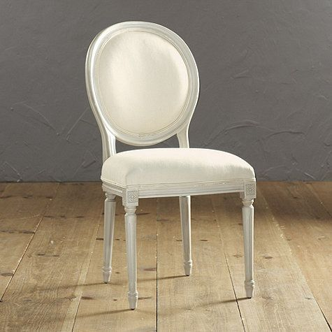 Oval Back Louis XVI Side Chair | Side chair, Room and Vanity stool